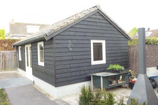 Geïsoleerd tuinhuis op maat voor u gebouwd