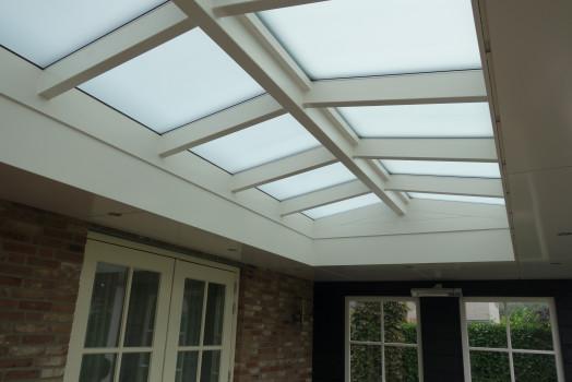 Ontvang een persoonlijk ontwerp voor uw overkapping met plat dak