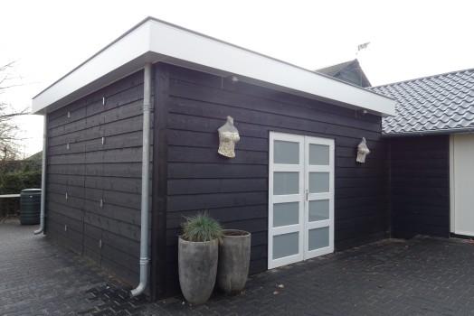 Uw houten tuinhuis op maat wordt prefab gemaakt
