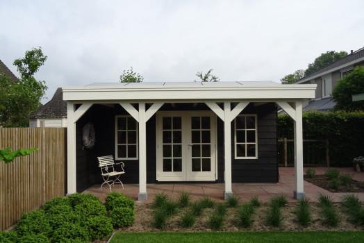 Ontzorging bij het realiseren van uw houten tuinhuis
