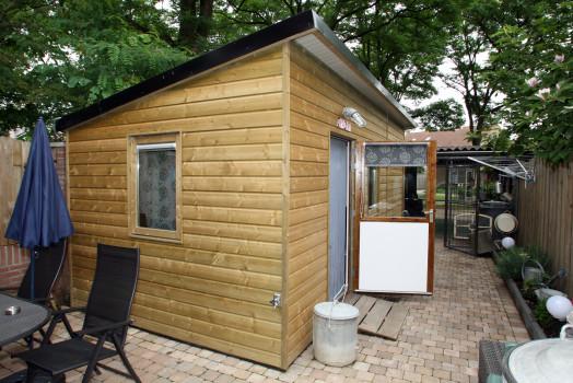 Kies voor een tuinhuis met geïmpregneerd hout voor een maximale levensduur