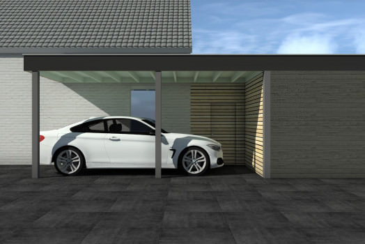 <h2>Extra opties voor het laten bouwen van een houten carport met plat of puntig dak<o:p></o:p></h2>