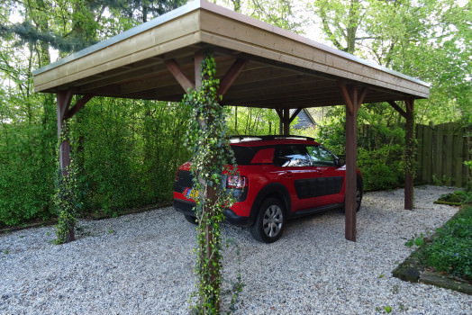 <h2>Creëer een gevoel van luxe met een houten carport op maat<o:p></o:p></h2>
