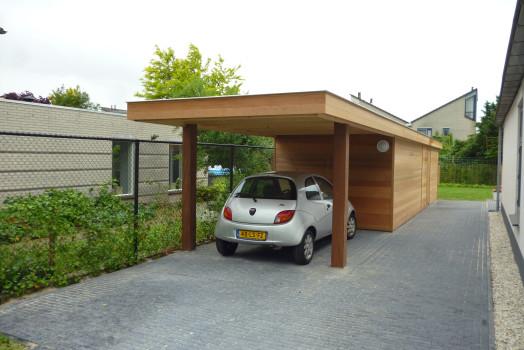 Carport aangepast aan de stijl van uw huis