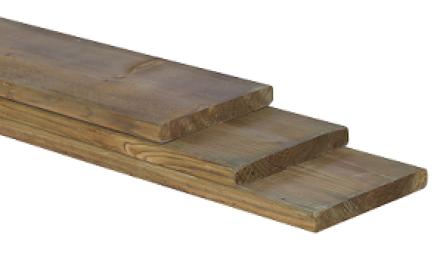 Grenen Plank Nobifix