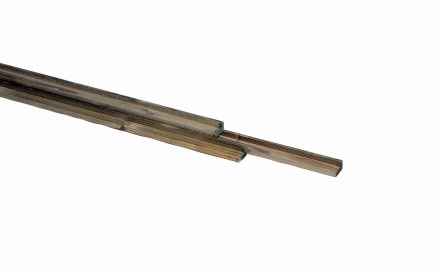 Hoeklat 18x30mm, geschaafd, geimpregneerd vuren