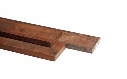 Plank 20x150mm, ruw, Azobe