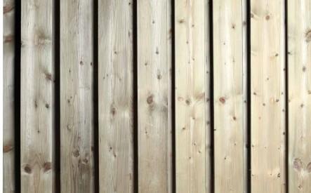 Tuinscherm geimpregneerd vuren 1800x1800, 19 verticale planken